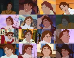 The Many Faces of John Rolfe by ncfwhitetigress