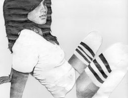 American Apparel. Monocrome by LLER