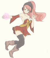 FT : Magical Girl Meredy by holymarbles
