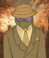Handsome Donatello by Hiso-chan
