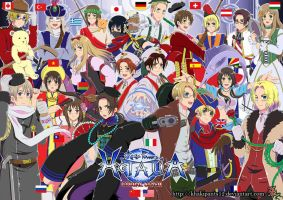 Hetalia: Global Clash by khakipants12