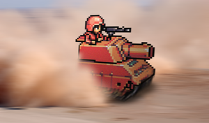 "Retro Tank ""Advance Wars"" by RETROnoob"