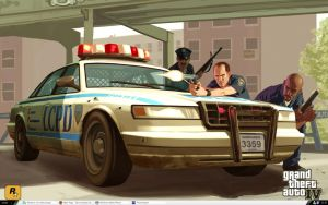 GTA: IV Desktop by SixU