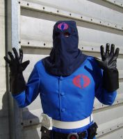 Cobra Commander with Hood 5 by FraterSINISTER