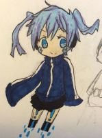 Ene (Colored) by xXInvaderEmXx