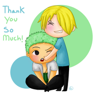 5k Thank You by Snuckledrops