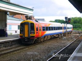 Southwest Trains 158884 at Exeter St Davids by The-Transport-Guild