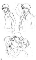 hunger games - sketch drop by Awkwardly-Social