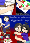 Happy Mother's Day Comic by LunarGirl2z