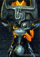 Midna (Colored Pencil Drawing) by LMan-Artwork