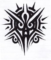 Another tribal doodle by Ashlo4