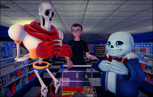 Shopping with the Boys by Stitchlovergirl96