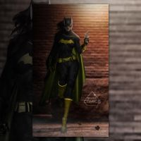 Lindsey Morgan DCEU Batgirl  by SavageComics