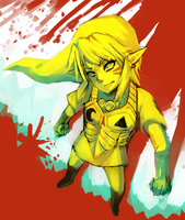 Majora's Mask -- WIP - what blood? by onisuu