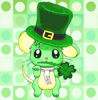 Green Mouse Day by pichu90