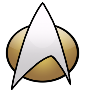 Starfleet Comm Badge TNG by Epe