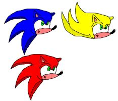 Sonic Drawing 2 by SonAmyAlways