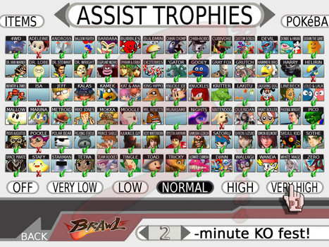 Super Smash Bros 4 Assists by nakashimariku