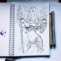 Instaart - Jaina Proudmoore (NSFW on Patreon) by Candra
