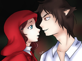 [Lilly x Thomas] Hey There Little Red Riding Hood by DragonYoukaiKanaChan