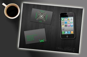 AD Agency Business Card by WithoutMYLove