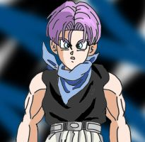 Trunks Alternative GT by DarkAngelxVegeta
