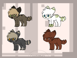 Adoptables (OPEN) by Mooui