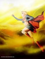 Supergirl - Up and Away by chou-roninx