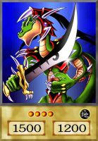 Alligator's Sword by YugiohFreakster
