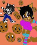 RQ: Krazy Kawaii Nekoz: Cookies pt2: in Color by Toyeshinyama