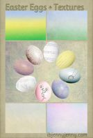 Free Easter Eggs + Textures by ibjennyjenny