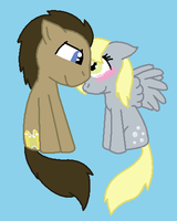 Doctor Whooves X Derpy Hooves by Imtailsthefoxfan