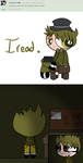 PPG! SpringTrap and Golden Freddy: Ask #4 by BadAssAnni