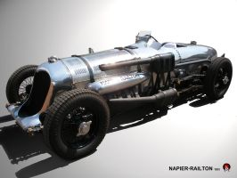 Napier-Railton by EyeAge