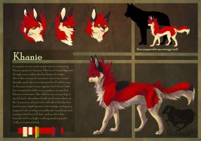Character reference: Khanie by EldingaGunman