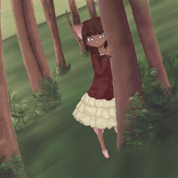 . : Wary Forest Child : . by Aviditty