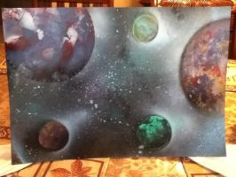 Spray Painting of Space! by RandleSR39