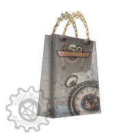 Apparatus Bag- Collage Logo Project by ZombieVoodooMistress