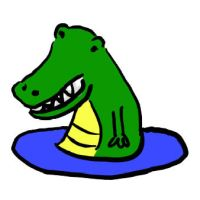 Funny Alligator by cuteordeath