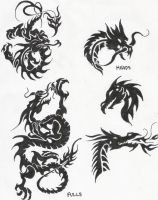 Dragons 1 by KorieLove