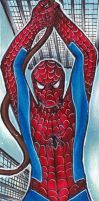 Spiderman Bookmark by Anako-Kitsune
