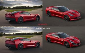 Corvette C7 Facelifted by 5-G