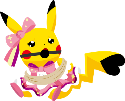 Pikachu Captured by cristeal