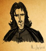 Severus Snape by MarioOscarGabriele