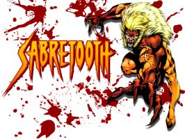 Aaahhh...Sabretooth.....again by Superman8193