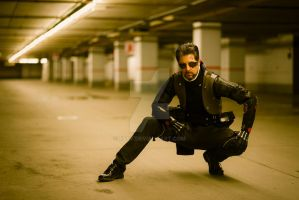 Deus ex human revolution cosplay- Adam Jensen 015 by Etfy