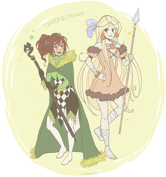 Iminey And Threed by lisaas