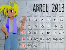 April 2013 by mushisan