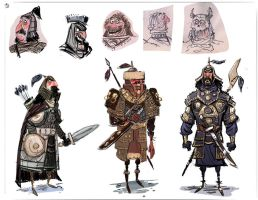 Warrior Designs by jesseaclin