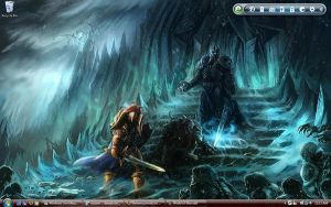 Lich King Desktop by Ramenuzumaki